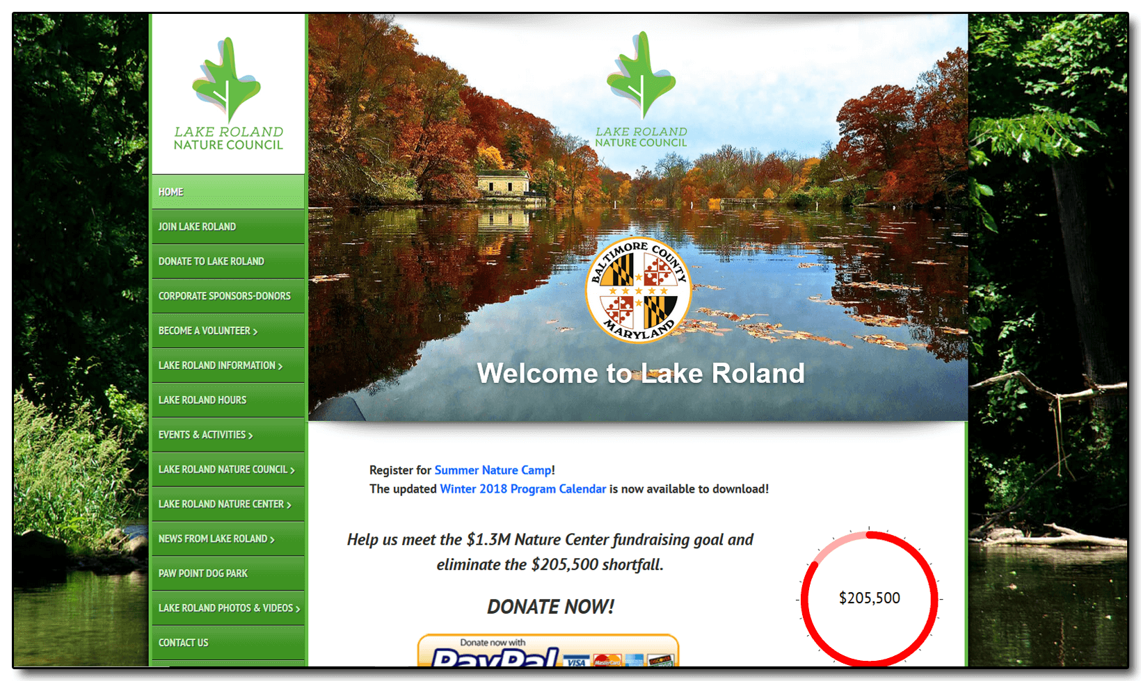 Lake Roland Nature Council