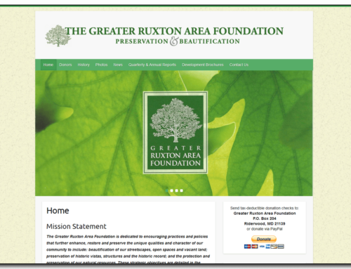 Greater Ruxton Area Foundation